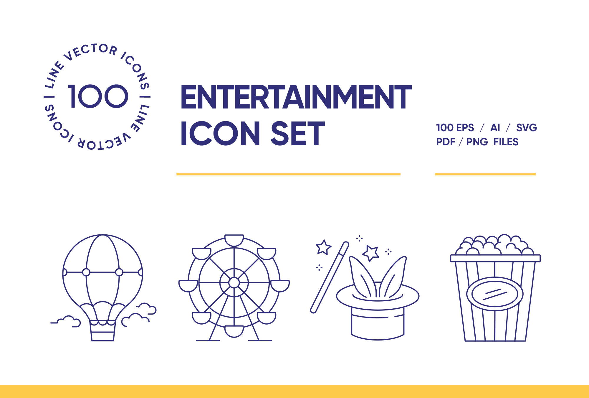 Entertainment – 100 Line Set
